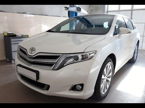 Замена фильтра салона на Toyota Venza. Быстро и просто