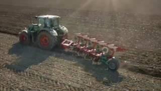 Kverneland ploughs video