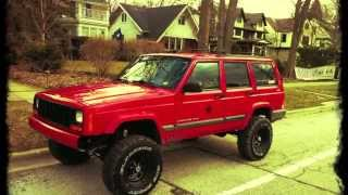"getlinkyoutube.com-2001 Jeep Cherokee 6"" Lift"