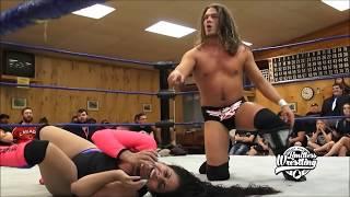 getlinkyoutube.com-Sonya Strong vs. Joey Janela - Limitless Wrestling Intergender Match