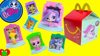 getlinkyoutube.com-2015 McDonalds Happy Meal Toys Littlest Pet Shop