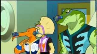 getlinkyoutube.com-Kung Fu Dino Posse - Silent But Dino Clips