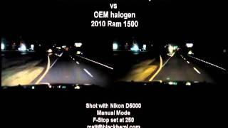 getlinkyoutube.com-HID projector vs OEM halogen