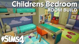 getlinkyoutube.com-The Sims 4 Room Build - Childrens Bedroom