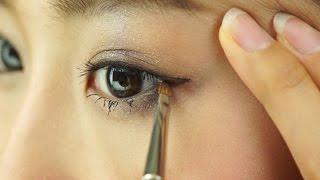 getlinkyoutube.com-奥二重や一重でも目が大きく見える目尻ラインの描き方【ノーカット版】