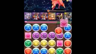getlinkyoutube.com-パズドラ ゼウス降臨初挑戦!! 7コン (puzzle and dragons) no charge