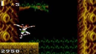 Strider Returns: Journey From Darkness Game Sample - Game Gear