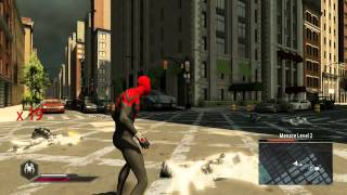 getlinkyoutube.com-The Amazing Spider-Man 2 Video Game - Superior Spider-Man suit free roam