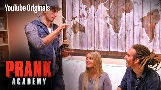 HAUNTED ROOM PRANK!!!   Prank Academy   Episode 8