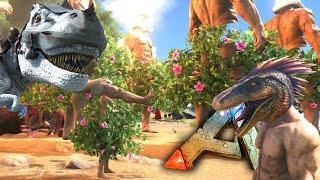 getlinkyoutube.com-Ark Survival Evolved - Giants, Raptor Helmet, Spiked Trex Helmets! Mod Updates Gameplay