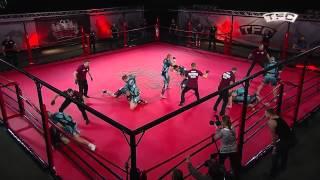 getlinkyoutube.com-Legalne walki kibiców na ringu Barbarians FT (St. Petersburg, Russia) - HFA (Arka Gdynia, Poland)