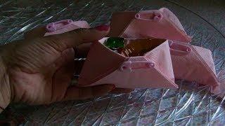 getlinkyoutube.com-Como hacer  dulceros en forma de pañales para baby shower