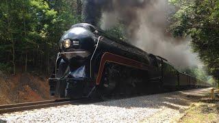 getlinkyoutube.com-Norfolk & Western, Class J #611, Lynchburg to Roanoke