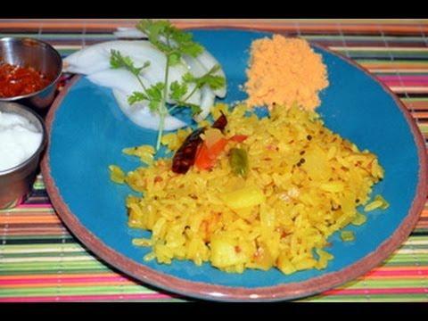 Puffed Rice Upma - Easy Indian Breakfast Recipe