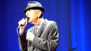Leonard Cohen - A Thousand Kisses Deep (live) - TSB Bank Arena, Wellington - 17-12-2013