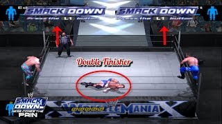 Double Finisher Trick | WWE SD! HCTP 2003 |