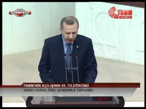 Başbakan Erdoğan  23 Nisan 2012 TBMM Genel Kurulu 'Özel Gündem' Konuşması