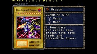 Yugioh Forbidden Memories 2 v1.3.5 | Five-Headed Dragon (2 & 3) | Zorc Necrophades