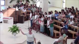 """2016 - """"Cantarei ao Senhor (Taizé)"""" - Coro Juvenil de São Pedro do Mar, Quarteira"""