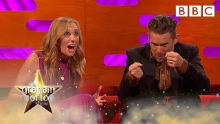 Ethan Hawke literally died on stage - The Graham Norton Show - BBC