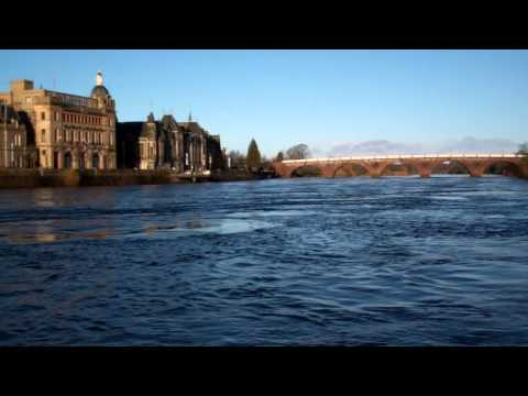 River Tay Perth Scotland January 5th
