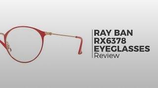 bab4ef8a1f Ray-Ban RX6378 2904 Eyeglasses in Black