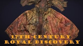 17th-century dress recovered from shipwreck