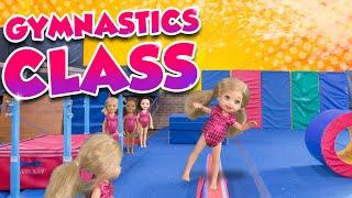 Barbie - The Twins First Gymnastics Class | Ep.136 width=