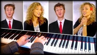 Tonight (West Side Story) - SATB / piano cover (Melody Myers, Julien Neel, Richard Bachand)