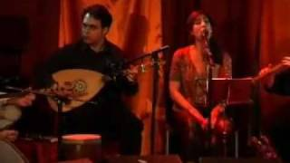 """Shabi Majnoon"": Bijan, Keyvan and Maryam Chemirani and Stelios Petrakis based on Debreli Hasan Song"