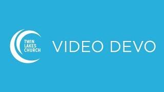 VIDEO DEVO 2018-05-08