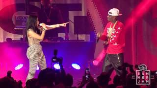 Nicki Minaj Ft. Soulja Boy - Yass Bish Yass [Hot97 Summer Jam 2014 Performance]