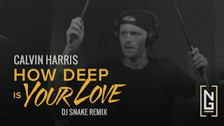"""""""How Deep is Your Love"""" (DJ Snake Remix) - Calvin Harris -  Drum Cover by Nick Gross"""