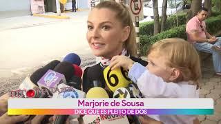 Marjorie de Sousa habla de su hijo Matías | Vivalavi