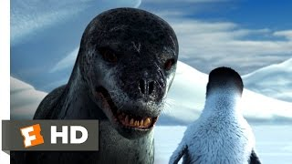 Happy Feet (3/10) Movie CLIP - Leopard Seal Chase (2006) HD