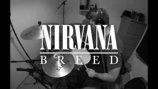 Nirvana - Breed Drum Cover by Andy Baker