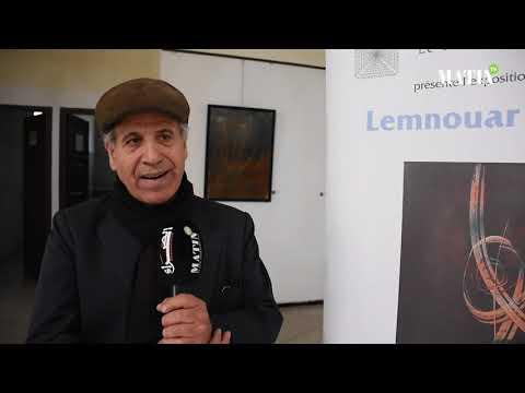 Video : L'artiste peintre Lemnouar Benali expose «ses recherches» à Casablanca