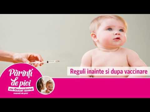 Reguli inainte si dupa vaccinare
