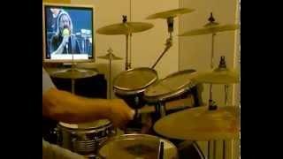 I NOMADI - Io Vagabondo -con augusto -live- drum cover