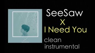[Clean Instrumental] BTS (방탄소년단)  - Seesaw X I Need U REMIX (Pro.SUGA)