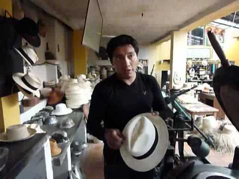 Barrancos Panama Hats factory