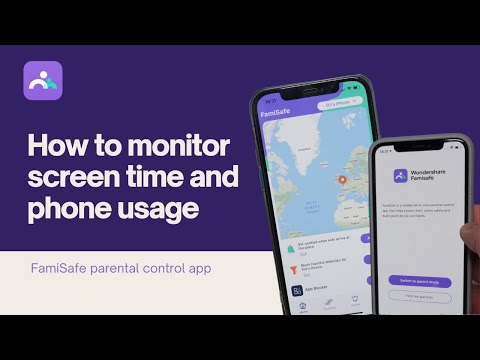 Monitor Phone Usage and Limit Screen Time Via Famisafe