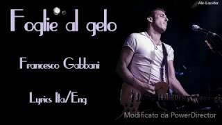 Francesco Gabbani-Foglie al gelo lyrics (Sub Ita/Eng)