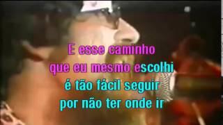 Raul Seixas -  Maluco Beleza -  Karaoke