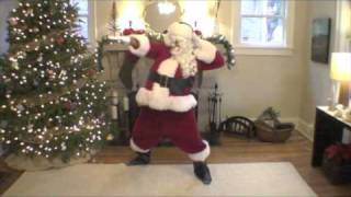 "Santa Dances to Breakbot - ""Baby I'm Yours"""