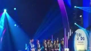 FANCAM 170920 TWICE 트와이스 WIN 'Digital Daesang Award' @ 2017 Soribada Best K Music Awards
