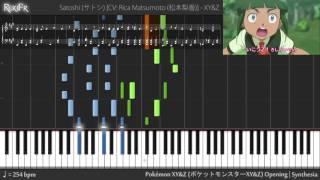 Pokémon XY&Z Opening - XY&Z (Synthesia)