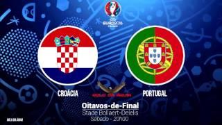 Croácia 0-1 Portugal - Relato do Golo + Apito Final - Antena 1