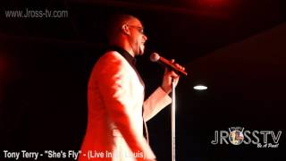 "James Ross @ Tony Terry - ""She's Fly"" - www.Jross-tv.com (St. Louis)"