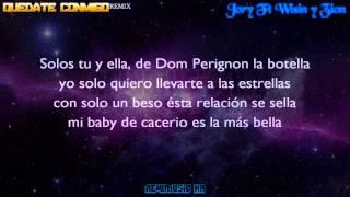 Quedate Conmigo (Remix) - Jory Ft Wisin y Zion (Letra) REGGAETON 2015